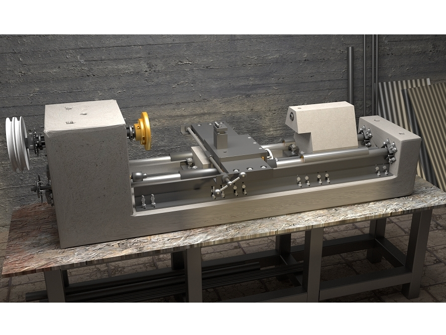 Build a metal lathe drill and milling machine make for Free metal project plans