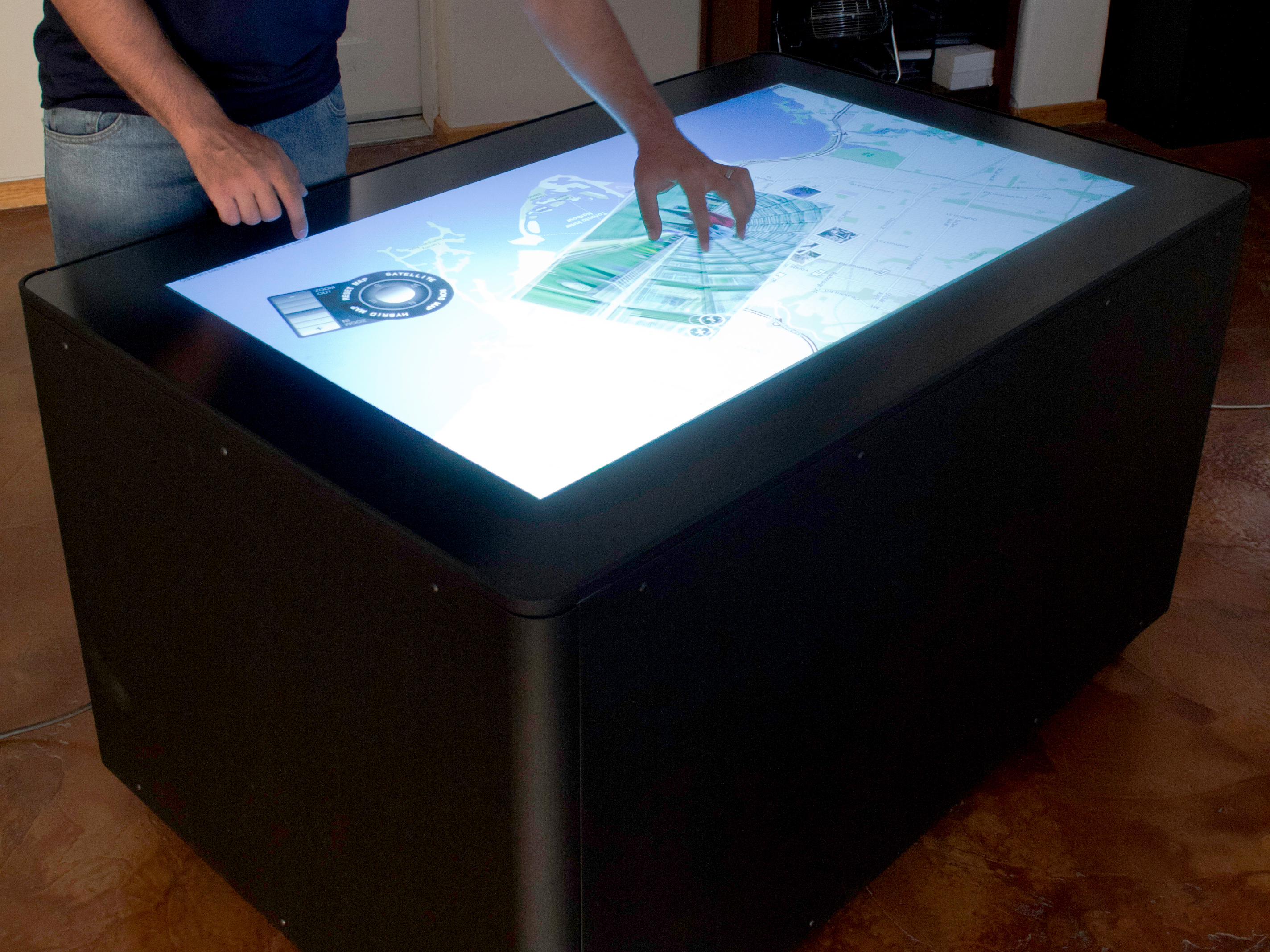 Diy Mt 50 Multitouch Table Make