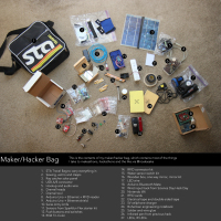 Headed Out? Don't Forget Your Maker Bag!