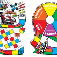 Howtoons Color Racer