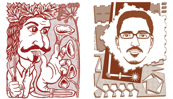 Brian Archer Draws Vancouver Makers in Their Natural Habitats