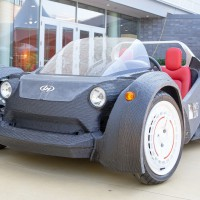 First Fused-Filament, Fully-Electric Vehicle