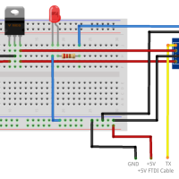 Installing and Building an Arduino Sketch for the  ESP8266 Microcontroller