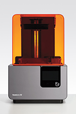 Manufacturer: Formlabs Price as Tested: $3,499 Build Volume: 145×145×175mm Print Untethered? Yes, via Wi-Fi, Ethernet, or USB Open Resin: Yes, uses chipped cartridges but has an open mode Onboard Controls? Yes, touchscreen LCD Host/Slicer Software: PreForm OS: Windows, Mac Firmware: Proprietary Open Software? No Open Hardware? No