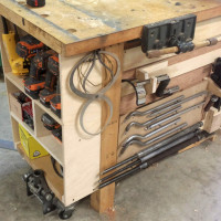 Finished French Cleat System