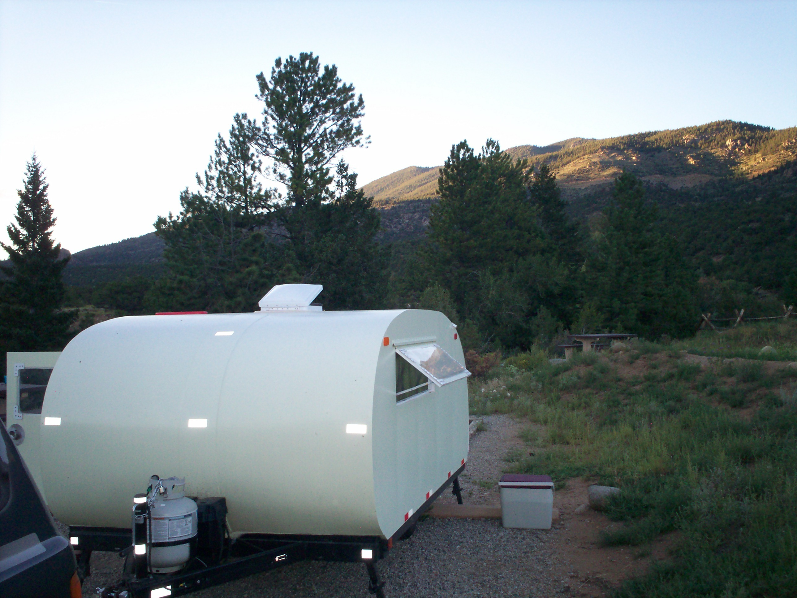 Build Your Own Fiberglass Travel Trailer