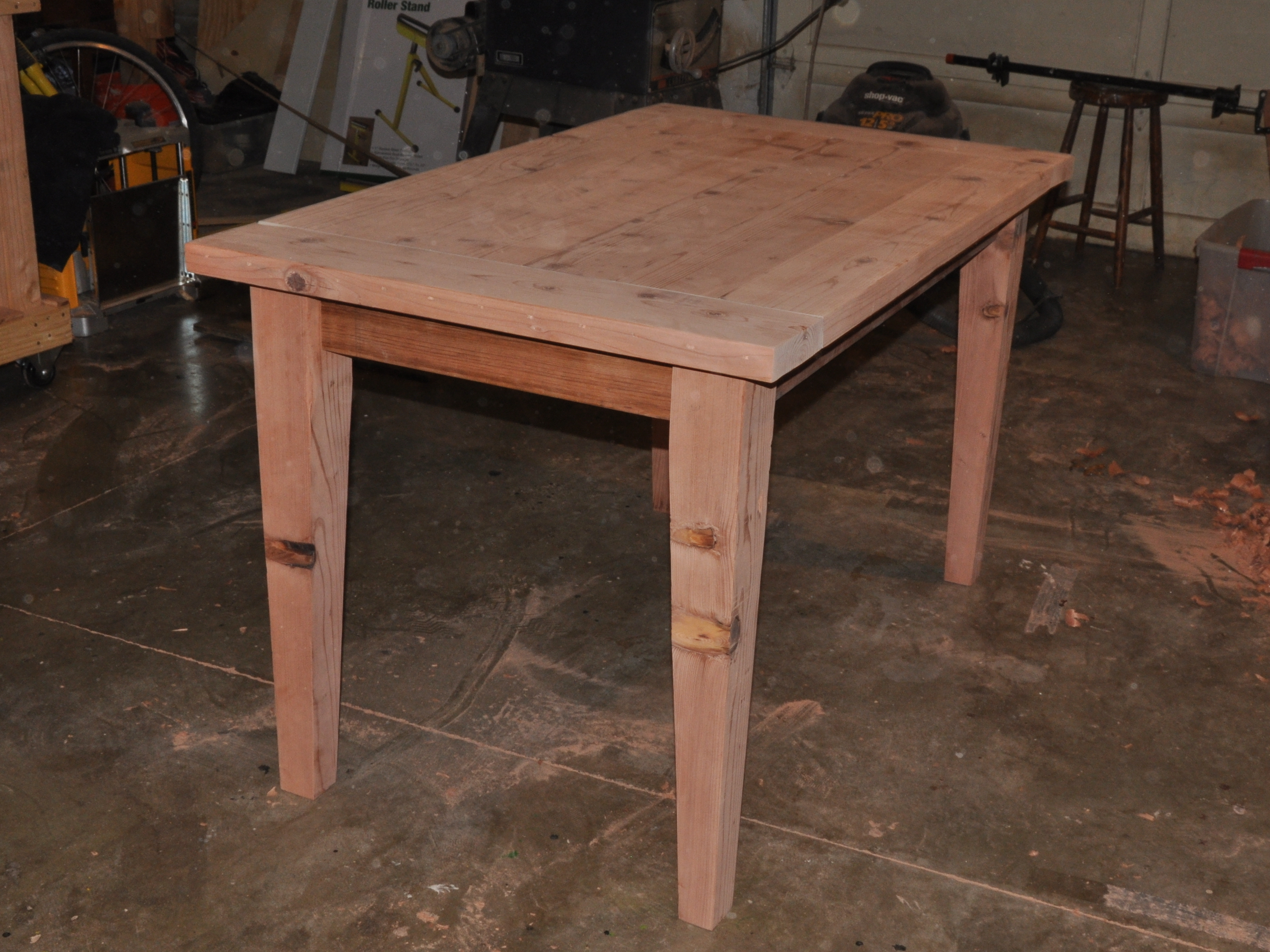 make a wooden table that is easily disassembled make - Homemade Wooden Desk Designs