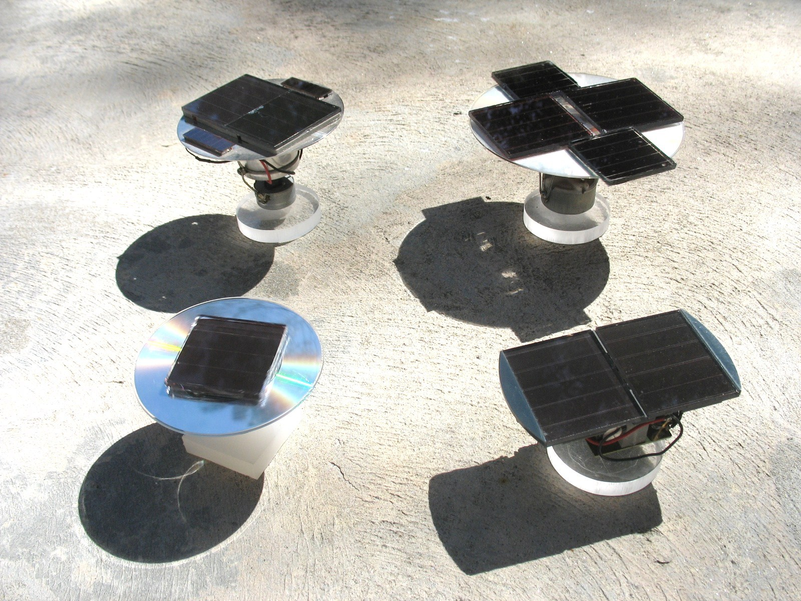 Solar Spinners for Your Windowsill!