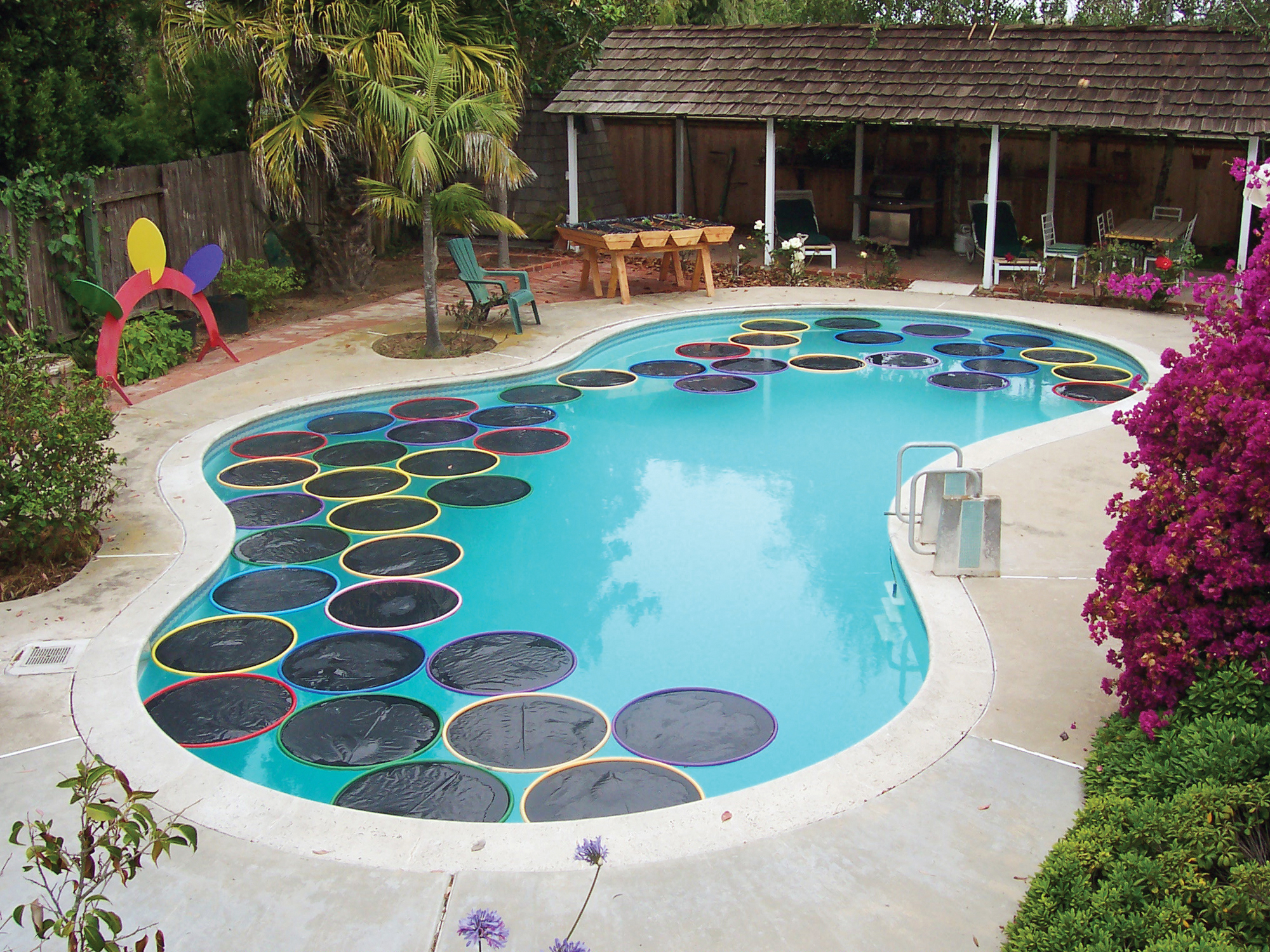 lily pad pool warmers make
